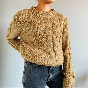 Vintage Fall Chunky Knitt Sweater 🍂🍁